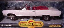 1969 Plymouth GTX WHITE Convertible HEMI 1:18 Ertl American Muscle 7249