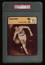 PSA 8 GEORGE MIKAN Sportscaster Basketball Card #54-15
