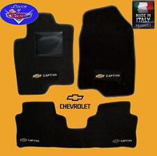 TAPPETINI tappeti Chevrolet CAPTIVA su misura con LOGHI