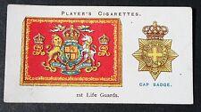 Life Guards  British Cavalry  Vintage Regimental Insignia Card # VGC
