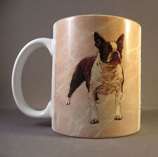 Boston Terrier Dog Coffee Mug, Double Sided, Encore Barbara Augello Photography