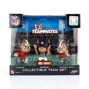 San Francisco 49ers Teammates Set Quarterback Running Back and Referee