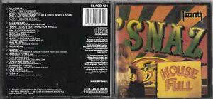 CD 15 TITRES NAZARETH 'SNAZ DE 1987 PRESSAGE FRANCE Castle Classics – CLACD 130