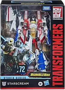 Transformers Studio Series 72: Bumblebee Movie Starscream figure   **IN HAND**