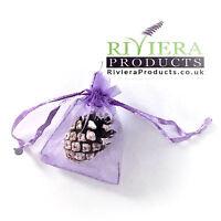 Luxury Plain Lilac Lavender Organza Bags 5x7CM x100 Bags