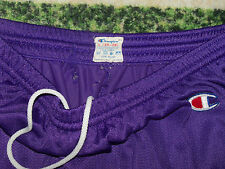 VTG 1980's Champion Basketball Shorts Purple & Orange Phoenix Suns Jersey Colors