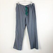 Figs Men Pisco gray straight leg scrub pants L