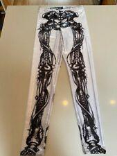 Black Milk Skeleton Leggings, Size Medium, Retails for $80