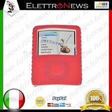 Custodia Ipod rossa silicone