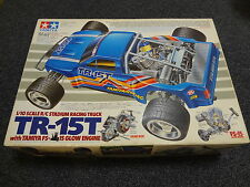 "SUPER RARE VINTAGE TAMIYA 1/10 TRUCK "" TR 15T "" + ENGINE STARTING SET"