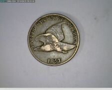 1857 Flying Eagle Cent  Penny  snow 9 variation ( 71-315 10m/o )