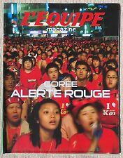 Equipe Magazine Corée Carl Lewis Cambell Hincapie Senna 2006