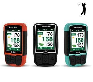Canmore HG200 Telémetro de GPS de mano para golf con pantalla a color