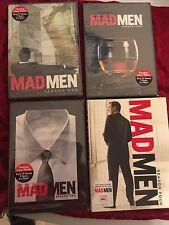 Mad Men Seasons 1-4 New, Sealed DVDs
