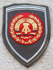 EAST GERMAN ARMY PATCH DDR NVA Badge Service Uniform Volksarmee Officer GDR