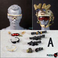 HOT FIGURE TOYS 1/6 Puzzle Bomb NEW Modern military goggles and sights A style