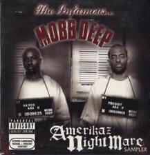 The Infamous Mobb Deep: Amerikaz Nightmare Sampler PROMO Music CD Nate Dogg 7trk