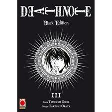 DEATH NOTE BLACK EDITION 3 (DI 6) PLANET MANGA - RISTAMPA - NUOVO