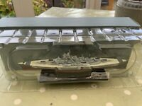 Atlas editions Diecast Ship - The Bismarck - 1:1250 scale