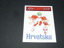 N°176 MASCOTTES HRVATSKA CROATIE PANINI FOOTBALL UEFA EURO 2008