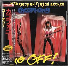 CACOPHONY - Go Off!  JAPAN CD OBI 1996 RRCY-2022 Marty Friedman Megadeth Hawaii