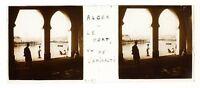 Algeri Il Port Algeria Foto Placca Da Lente Stereo Avril 1903