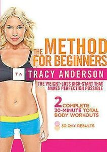 Tracy Anderson - The Method For Beginners DVD NEW dvd (ABD5608)