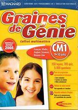 Coffret DVD Soutien Scolaire CM1 Français Math Anglais Sciences Histoire-Géo