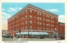 West Virginia, Wv, Martinsburg, Hotel Shenandoah 1930's Postcard