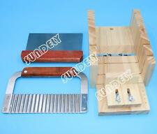NEW! Soap Mold Loaf Cutter Adjustable Wood & Planer Dish Box Cutting Tool Set