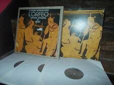 MONTEVERDI: L'Orfeo > Rogers Petrescu Bownan Jügens / Archiv Produktion LPs exc+