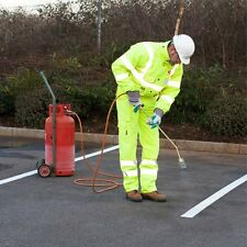Road & Pavement Marking Permanent Yellow Line Torch-On 50mm, 75mm & 100mm Wide