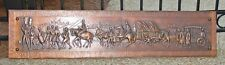 One-of-a-kind, hand-made Copper Relief wall art piece