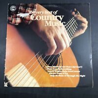 The Very Best Of Country Music - Various Artists NV-107 VG+ Vinyl LP R2