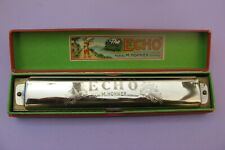 2344* harmonica M.HOHNER ECHO ancien avec étui d'origine