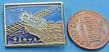 "NASA PIN vintage ZARYA - IA/R space station 1""!"