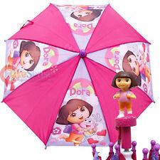 Dora The Explorer Dora Kids Umbrella Hugging Boots