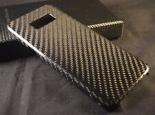 SAMSUNG GALAXY S8 100% REAL CARBON FIBER CASE / COVER / WORKS w/ TEMPERED GLASS