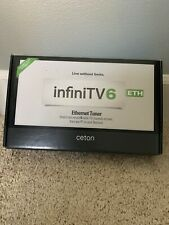 Ceton InfiniTV 6 ETH Cable External TV Tuner Network DVR - HTPC  6 Channels