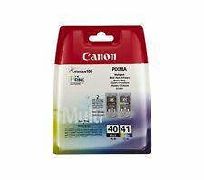 Canon Tintenpatrone Canon CL41+P40 schwarz+farbig Multipack
