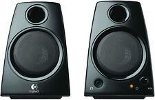 Logitech Z130 3.5mm Jack Compact PC Laptop Stereo Speakers - Black