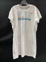 MIAMI DOLPHINS GAME USED DRI-FIT SHORT SLEEVE COMPRESSION SHIRT SIZE 4XL