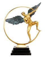 Guardian Angel - Limited Bronze Angel Sculpture - Martin Klein - Statue - Art