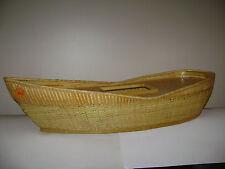 ARCHE STEIFF NOAH NOAH'S ARK BOAT WOODEN 038006 WICKER WORK VERY RARE