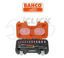 "Bahco S160 16 Piece 1/4"" Sq. Drive Mini Ratchet Hex Sockets & Extension Bar Set"