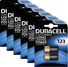 12x Duracell Ultra CR123 3V Lithium Photo batterie - DL123A/CR17345 Blister