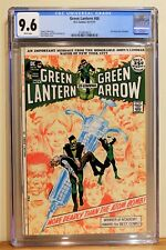GREEN LANTERN #86 CGC 9.6 - WHITE PAGES *ANTI-DRUG STORY CONCLUSION*
