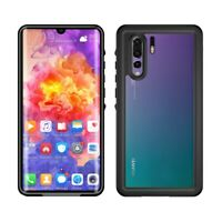 Waterproof Phone Case Shockproof Cover For Huawei P30 P20 Pro Lite Mate 20 Black