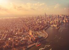 "Komar 4-987 254 X 184 Cm ""new York City Manhattan Cityscape Scenic"" Wallpaper"