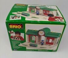 Brio Train Station Play and Record 33668